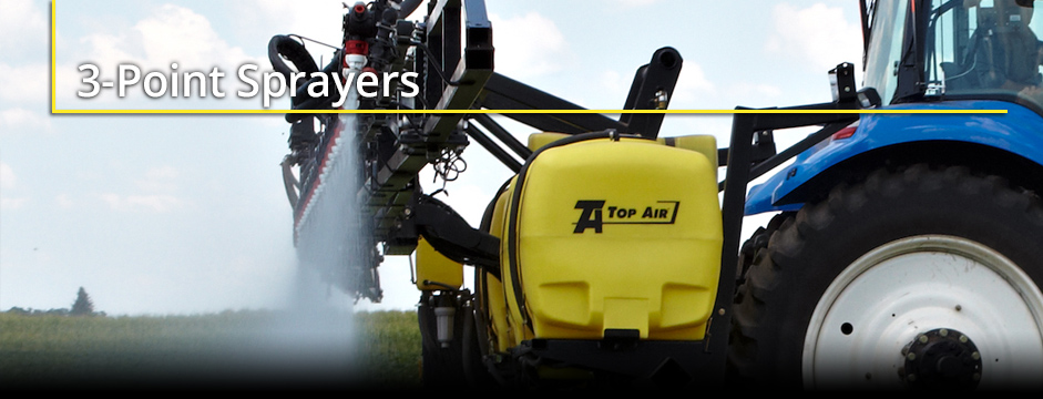 Top Air 3-Point Sprayers